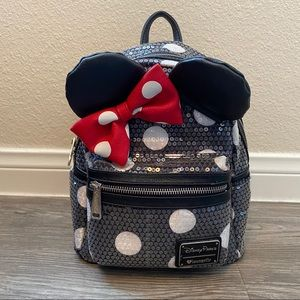 Disney Loungefly Minnie Mouse Backpack